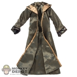 Robe: Hot Toys Hooded Dark Green Robe w/Bronze Trim