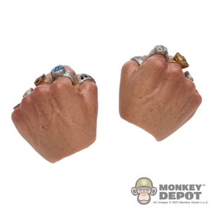 Hands: Hot Toys Fist w/Mandarin Rings