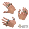 Hands: Hot Toys Hand Set w/Mandarin Rings