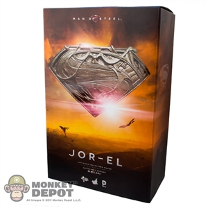 Display Box: Hot Toys Man Of Steel Jor-El (EMPTY)
