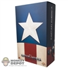 Display Box: Hot Toys Captain America Star Spangled Man Version (EMPTY)