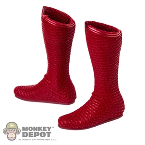 Boots: Hot Toys Superman Red Boots