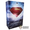 Display Box: Hot Toys Man Of Steel Superman (EMPTY)
