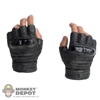 Hands: Hot Toys African American Gloved Weapon Grip