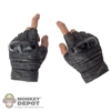 Hands: Hot Toys African American Gloved Rifle Grip