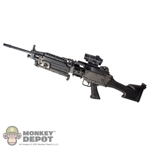 Rifle: Hot Toys M249E2 SAW w/Sight