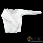 Shirt: Hot Toys Spandex Fabric White Undershirt