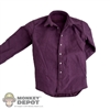 Shirt: Hot Toys Purple Dress Shirt