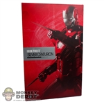 Display Box: Hot Toys Iron Man 3 Silver Centurion (EMPTY BOX)