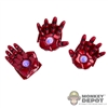 Hands: Hot Toys Iron Patriot Open Hand Set