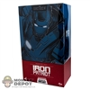 Display Box: Hot Toys Iron Man 3 Iron Patriot (EMPTY BOX)