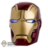 Head: Hot Toys Iron Man Mark XLII Light Up Head (READ NOTES)