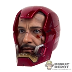 Head: Hot Toys Iron Man Mark XLII Stark Head