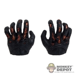 Hands: Hot Toys Gloved Black Battle Damage Grasping