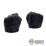 Hands: Hot Toys Gloved Black Fist