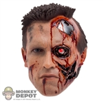 Head: Hot Toys Battle Damaged T-800 w/LED Eye