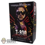 Display Box: Hot Toys The Terminator T-800 Battle Damaged (EMPTY BOX)