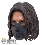 Head: Hot Toys Masked Winter Soldier (No neck peg)