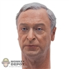 Head: Hot Toys Alfred Head
