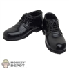 Shoes: Hot Toys Black Dress Shoes