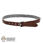 Belt: Hot Toys Brown Leatherlike