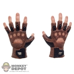 Hands: Hot Toys Brown Gloved Grasping Grip