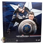 Display Box: Hot Toys Captain America The Winter Soldier (EMPTY)