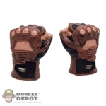 Hands: Hot Toys Brown Gloved Fist