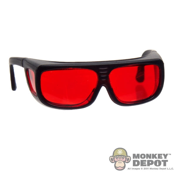 Monkey Depot - Glasses: Very Hot Yellow Tint Protective
