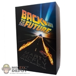Display Box: Hot Toys Back To the Future - Marty McFly (Empty)