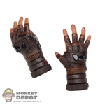 Hands: Hot Toys Brown Gloved Holding Grip