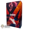 Display Box: Hot Toys Captain America: Avengers - Age Of Ultron (EMPTY)