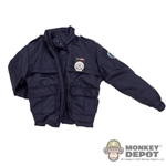 Coat: Hot Toys Navy G.C.P.D. Jacket
