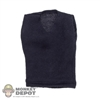 Shirt: Hot Toys Navy V-Neck Sweater