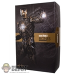 Display Box: Hot Toys Iron Man Mark XLI - Bones (EMPTY BOX)