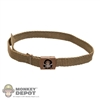 Belt: Hot Toys Cloth Belt w/US Sepcial Forces Buckle