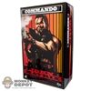 Display Box: Hot Toys Commando - John Matrix