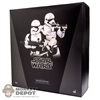 Display Box: Hot Toys Star Wars - First Order Stormtroopers (Empty Box)