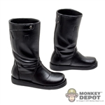 Boots: Hot Toys Black Molded Boots