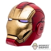Head: Hot Toys Iron Man Mark IX Light Up Head