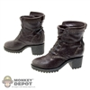 Brown: Hot Toys Brown Molded Boots