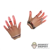 Hands: Hot Toys Scarlett Witch Red Translucent Fingertips For Power-Using Effects