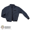 Coat: Hot Toys Navy Blue Jacket