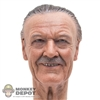 Head: Hot Toys Stan Lee