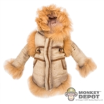 Coat: Hot Toys Female Suedelike Jacket w/Fur
