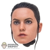 Head: Hot Toys The Force Awakens Rey (No Neck Peg)