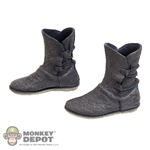 Boots: Sideshow Star Wars Rey Brown Molded Shoes