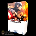 Display Box: Hot Toys Captain America Civil War