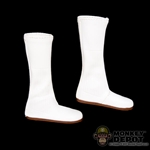 Boots: Sideshow Princess Leia White Boots