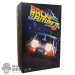 Display Box: Hot Toys Back To The Future II Dr. Emmett Drown (EMPTY BOX)